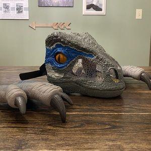 Jurassic World Raptor Blue Mask & Claws